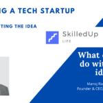 SkilledUp Life Startup Step 1