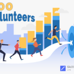 SkilledUp Life 300 volunteers