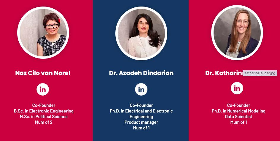 Women AI Academy Founders